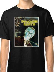 Daleks Invasion Earth Classic T-Shirt