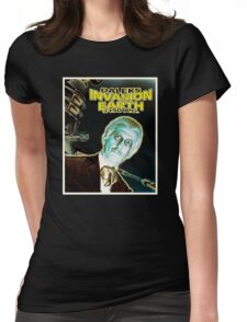 Daleks Invasion Earth Womens Fitted T-Shirt