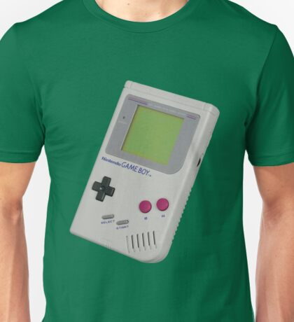 Gameboy Shirt For Geek Unisex T-Shirt