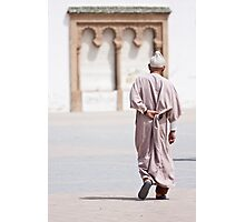 Answering the call to prayer Photographic Print