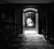 Abandoned Church by maria mitchell