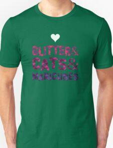 Glitter&Cats&Manicures Unisex T-Shirt