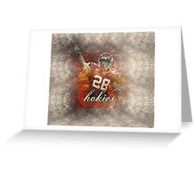 sports  Branden Ore NFL Greeting Card