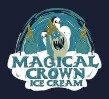 magical crown ice cream by piercek26