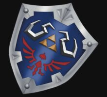 A Legend of Zelda (Right-shoulder Back) Shield Design  by FilipeFL3