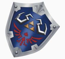 A Legend of Zelda (Right-shoulder Back) Shield Design  Kids Clothes