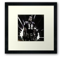 sports  peyton manning 3 Framed Print