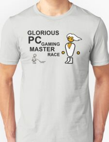 GLORIOUS PC GAMING MASTER RACE Unisex T-Shirt