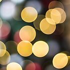 Christmas Tree Bokeh by Sharlene Rens