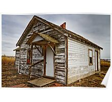 Old Rustic Rural Country Farm House  Poster