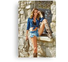 Guess Girl  Canvas Print