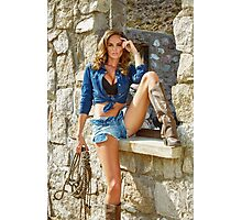 Guess Girl  Photographic Print