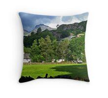 Chapel Stile - Under The Mountain Throw Pillow