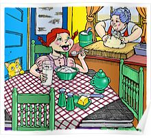 Breakfast @ Grandma's Poster