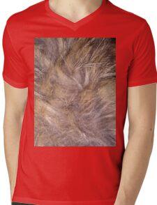 fuzzy legs Mens V-Neck T-Shirt