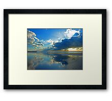 Freshwater West - Beautiful Space. Framed Print
