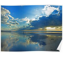 Freshwater West - Beautiful Space. Poster