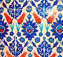 turkish tiles 3 art by Adam Asar
