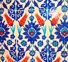 turkish tiles 3 art by Adam Asar