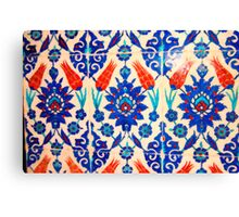 turkish tiles 3 art Canvas Print