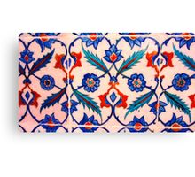turkish tiles 4 art Canvas Print