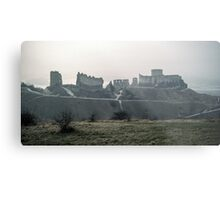 Castle Gaillard by Richard I Les Andelays 198402160027  Metal Print