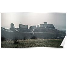 Castle Gaillard by Richard I Les Andelays 198402160027  Poster