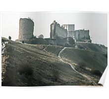 Castle Gaillard by Richard I Les Andelays 19840216 0029  Poster