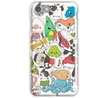 Sushi Bar: The point of Nori-turn iPhone Case/Skin