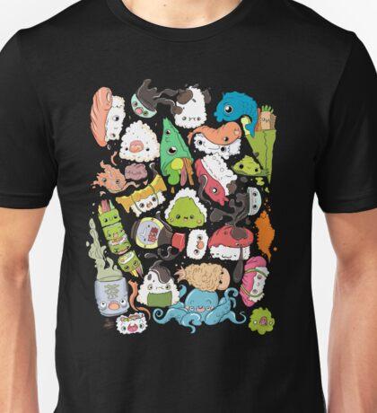 Sushi Bar: The point of Nori-turn Unisex T-Shirt