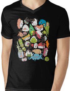 Sushi Bar: The point of Nori-turn Mens V-Neck T-Shirt