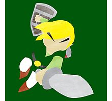 Project Silhouette 2.0: Toon Link Photographic Print