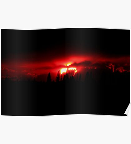 Nuclear Sunset Poster