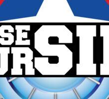 Civil War - Choose Your Side Sticker