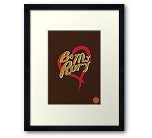 Be My Rory Framed Print