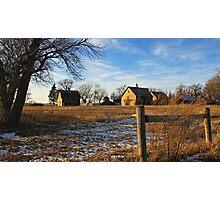 Down on Junior's Farm Photographic Print
