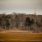 Church Spire Barnstable Cape Cod Massachusetts by Elizabeth Thomas