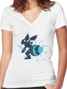 No. 644 Women's Fitted V-Neck T-Shirt
