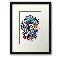 Sonic Hair (2013) Framed Print