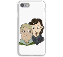 sherlock Holmes and John Watson iPhone Case/Skin