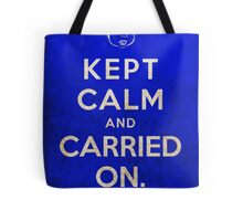 Kept Calm... Now What? Tote Bag