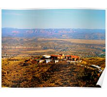 View from Jerome, AZ Poster
