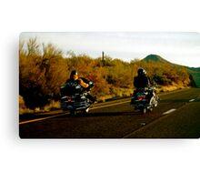Bikers, AZ Canvas Print