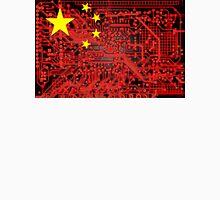 circuit board Flag (China) Unisex T-Shirt