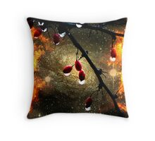 Consumed Throw Pillow