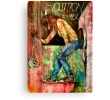 Evolution To Revolution  Canvas Print