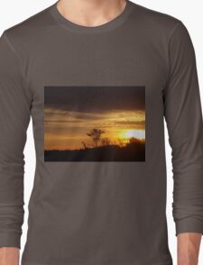 Gold In The Sky  Long Sleeve T-Shirt