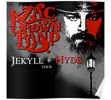 ZAC BROWN BAND JEKYLL + HYDE Poster