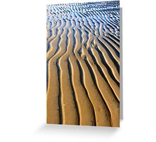 Ripple View Eternal: Carmila Beach, Queensland, Australia Greeting Card