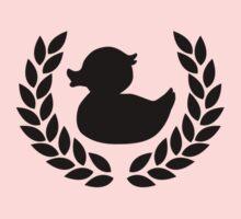 Rubber Ducky - Black Image by Stuart Stolzenberg
